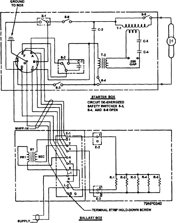 figure 4 31 wiring diagram for an early model 12 inch mercury rh electronicstechnician tpub com Basic Light Wiring Diagrams Light Wiring Diagrams Multiple Lights